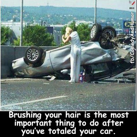 Brushing it off...  😐