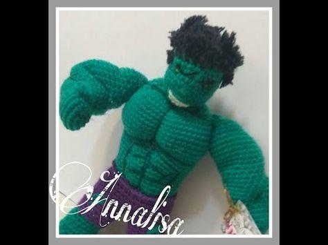 Amigurumi Passo a Passo - Mini Hulk # Parte 1 - YouTube   355x474