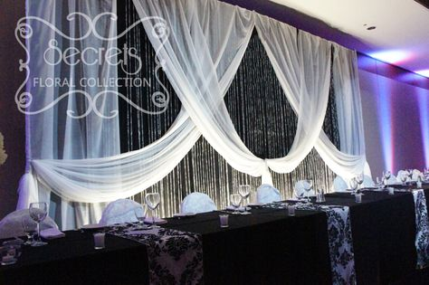 List Of Pinterest Black And White Wedding Decorations Backdrops Head