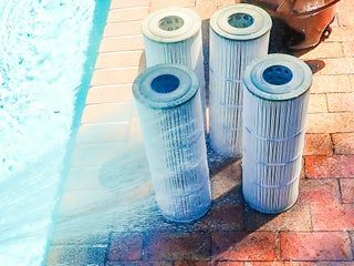 How To Clean A Pool Cartridge Filter System Cleaning Pool Filters Pool Cleaning Tips Pool