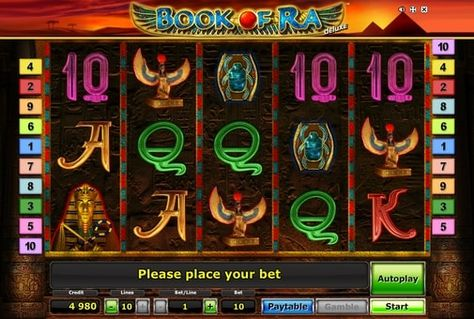 Ігровий автомат book of ra deluxe novomatic картинки