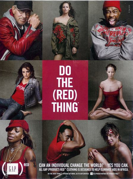 Do the (Red) Thing: Gap Cause Marketing.