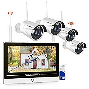 The Best Outdoor Wireless Security Camera System With Dvr And Monitor Top 15 In 2020 Wireless Security Camera System Home Camera System Wireless Ip Camera