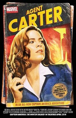 Details about Captain America movie poster - Agent Carter poster - 11 x 17 inches