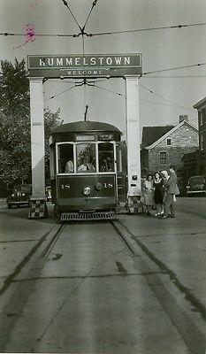 Hershey Transit Co Trolley 18 Hummelstown Pa