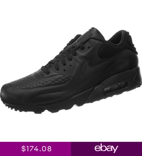 separation shoes 13160 b6c1a Nike AIR MAX 90 ULTRA SE PREMIUM black Mens Shoes Special Edition rare  Sneakers