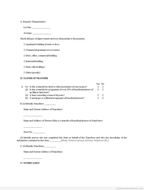 Printable Sample new propertynew tenant information Form Template