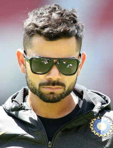 Nice Virat Kohli New Hairstyle 2019 Virat Kohli Hairstyle Short Hair With Beard Hair Styal