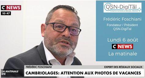 ⚡Interview⚡/ Frederic Foschiani, Président de QSN-DigiTal, sur CNEWS