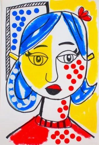 Check out these amazing Roy Lichtenstein Art Projects for Kids to learn about the artist who transformed comic strips into high end art! Pop Art For Kids, Art Lessons For Kids, Artists For Kids, Art Lessons Elementary, Roy Lichtenstein Pop Art, 4th Grade Art, Art Curriculum, School Art Projects, Projects For Kids