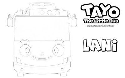 101 Gambar Tayo Untuk Di Warnai Paling Hist