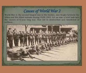 World War Two Main Reason World War Two World War War