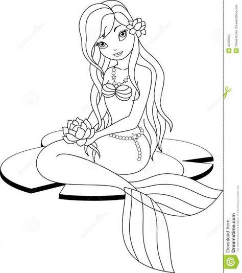 Mermaids Mermaids Coloring Pages 19 Little Mermaid