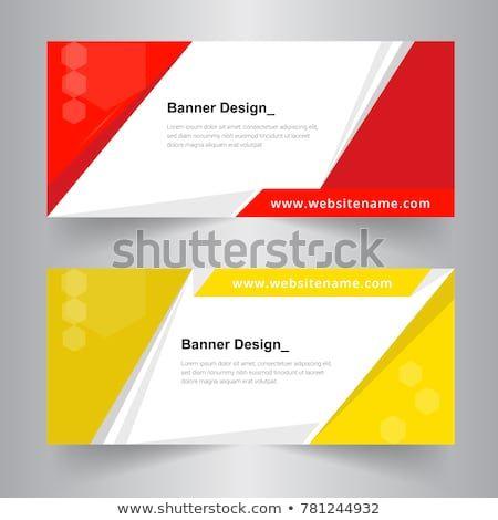 Horizontal Business Banner Set Vector Templates Clean Modern Geometric Abstract Background Layout For Website Design Business Banner Web Banner Design Banner