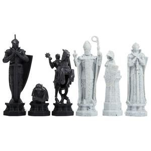Additional Image Of Wizards Chess Set By Noble Collection Xadrez De Bruxo Tatuagem Guerreiro Guerreiro