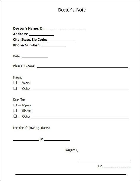Doctors Note Template - 21+ Download Free Documents in PDF , Word - phone number list template