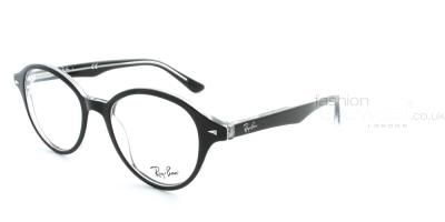 a6f93f59ae0 Ray Ban RB5244 2034 Top Black On Transparent Glasses