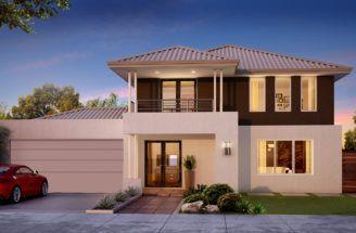 Narrow Lot Homes Two Storey Small Arsitektur Rumah Rumah Minimalis Rumah Modern
