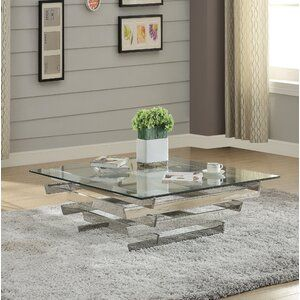 Barberton Entertainment Center In 2020 Clear Coffee Table Coffee Table Solid Coffee Table