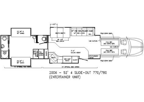 Floor Plans Luxury Motor Coaches