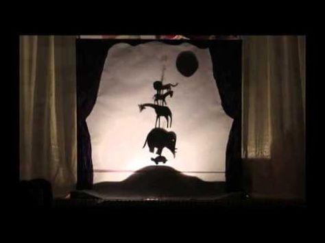 A que sabe la luna. Teatro de sombras.
