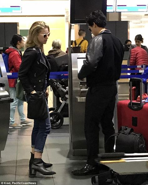 Cole Sprouse and Lili Reinhart catch flight together