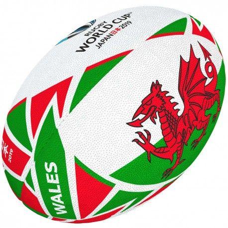 Ballon Rugby Flag Pays De Galles Rwc 2019 Gilbert Ballon Rugby Pays De Galles Rugby