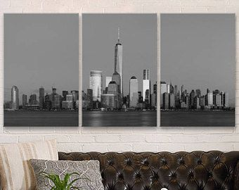 City Skyline Decor Nyc Manhattan Canvas New York City Canvas Large City Canvas Framed Canvas City Wall De Nyc Wall Art Large Canvas Wall Art Cities Canvas