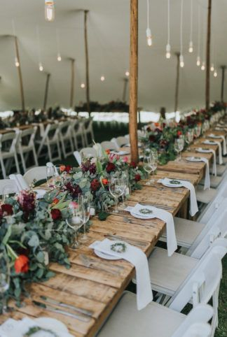 Stunning Outdoor Country Weekend Wedding Rustic Wedding Table Wedding Themes Rustic Rustic Wedding Flowers