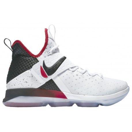 ... #ballislife #bball mens nike lebron x basketball shoes,nike lebron  14-mens-basketball-shoes-james, lebron-white/black/university red-sku:52405103  ...