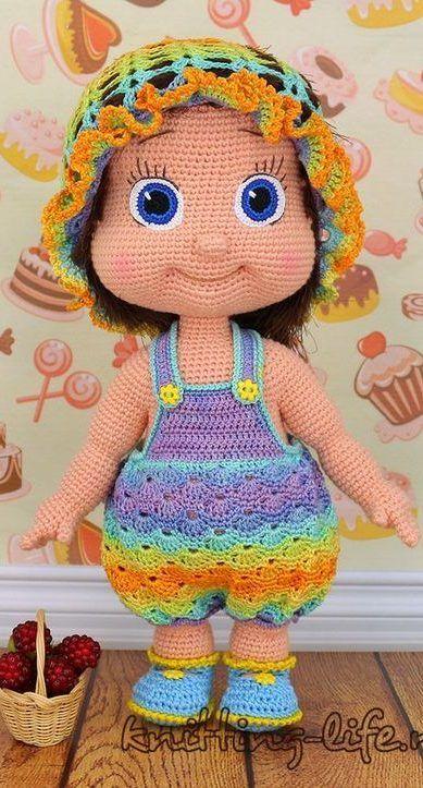 Ballerina doll amigurumi pattern - Amigurumi Today | 723x389