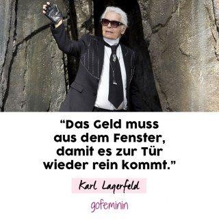 In Gedenken An Karl Lagerfeld Seine Legendärsten Zitate