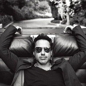Robert Downey Jr.  Iron Man anyone?