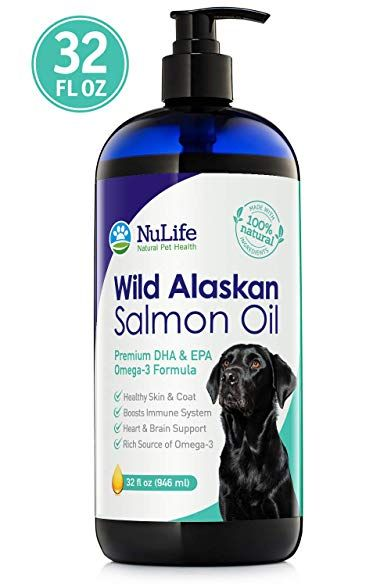 Wild Alaskan Salmon Oil For Dogs Omega 3 Fish Oil Liquid Skin And Coat Supplement For Shedding Dry Itchy Skin Liquid Fish Oil Salmon Oil Wild Alaskan Salmon