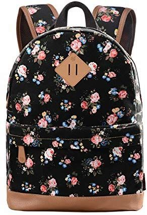 Douguyan Madchen Canvas Rucksack Daypack Retro Schulrucksack Schultasche Junge Damen School Backpack Girls Travel Backpack Wo Bags Cute School Bags School Bags