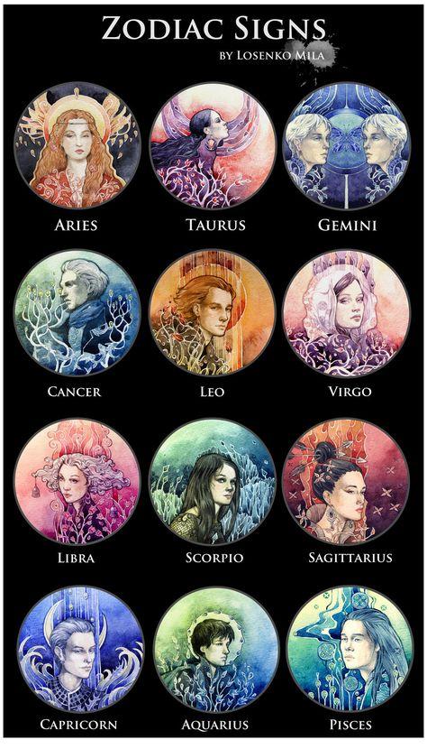- Zodiac Signs - by Losenko.deviantart.com on @deviantART