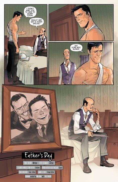 [Comic Excerpt] Happy Father's Day (Batman Annual Marvel Dc Comics, Math Comics, Robin Comics, Im Batman, Batman Robin, Batman Art, Batman And Superman, Tim Drake, Comic Movies