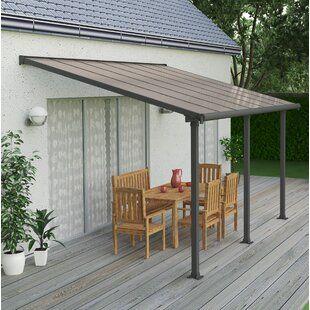 Freeport Park Alvin 7 Ft W X 3 Ft D Polycarbonate Standard Door Awning Wayfair In 2020 Pergola Patio Outdoor Patio Decor