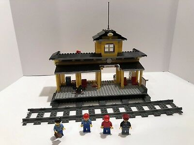 Lego Train Rc Train Train Station 7997 Hard To Find Afflink Contains Affiliate Links When You Click On Links To Various Merchants On T Lego Train Station Lego Trains Lego City Train