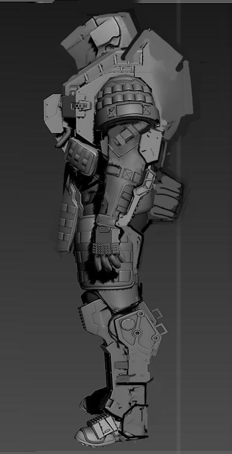 Эльфийка — Компьютерная графика и анимация | Zbrush