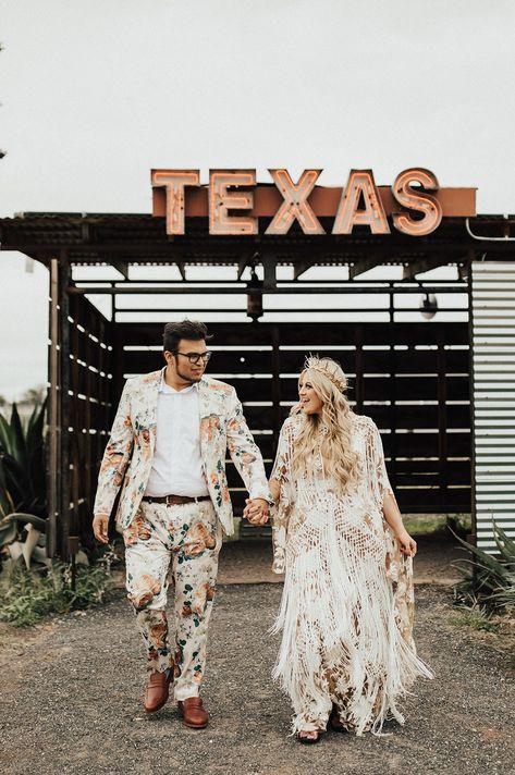 Married in Marfa! A Bold, Art-Inspired West Texas Wedding
