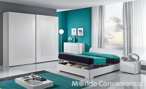 Camera da letto Sky - Armadio 2 antoni - Moderno - Mondo ...