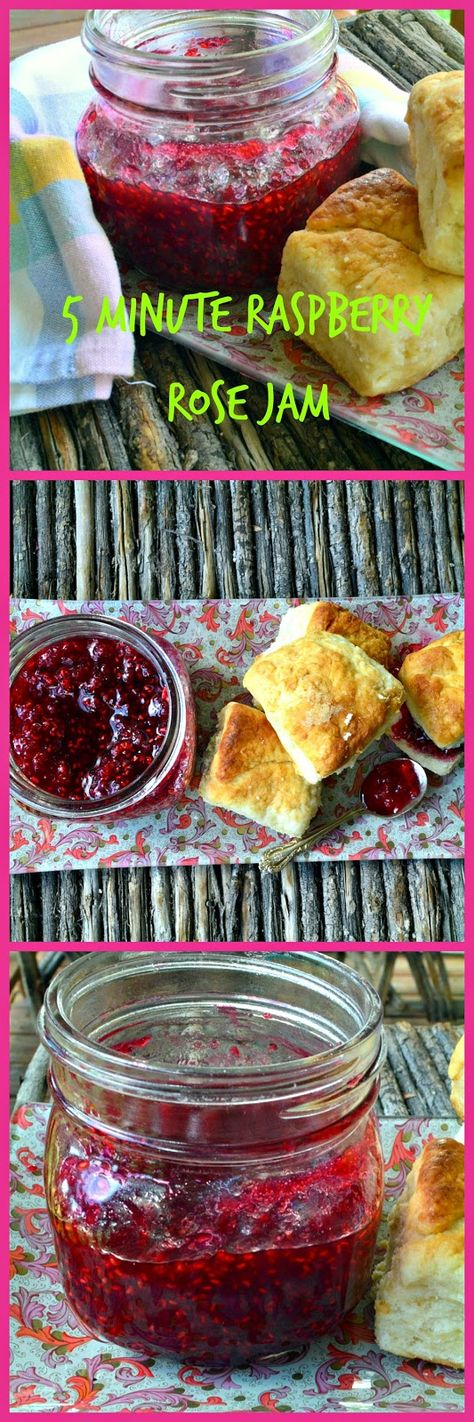 This is How I Cook: 5 Minute Raspberry Rose Jam - An Awe Inspiring Moment
