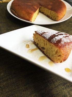 ケーキ 絶品 レシピ バナナ