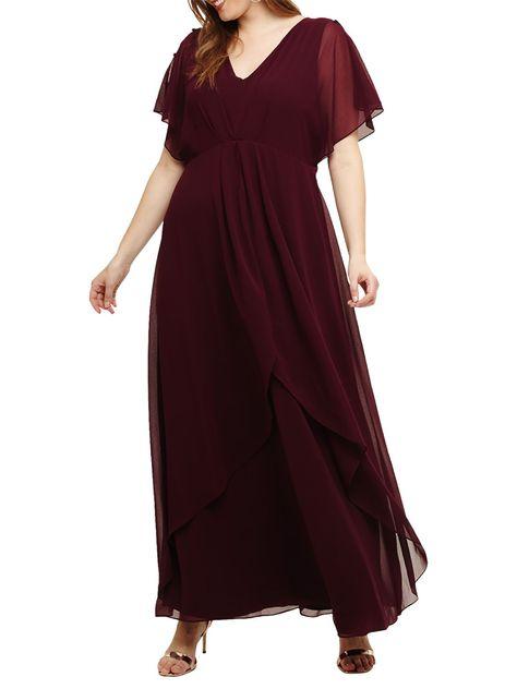 Studio 8 Nova Maxi Dress, Berry | Maxi