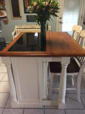 Home Styles Monarch Kitchen Island with Granite Top ...