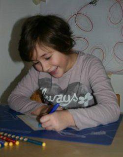 Schreibvorbereitung für linkshändige Kinder