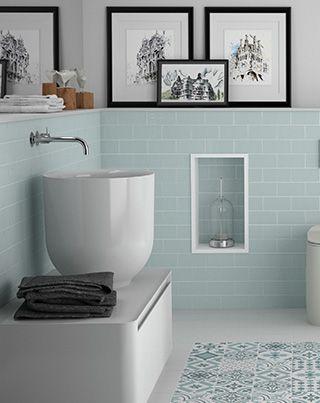 Das Badezimmer Mit Untergrundfliesen Ist Nie Aus Der Mode Gekommen In 2020 Badezimmer Fliesen Ideen Badezimmer Badezimmer Fliesen