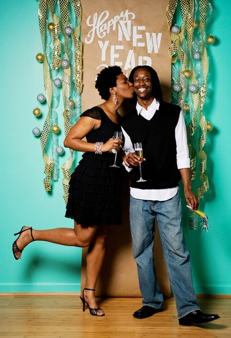New Years Party Picture Booth, 2014 New Year Party Decor, New Years 2014 Party Decoration