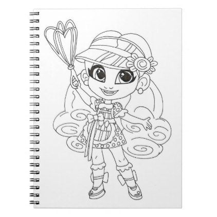 Hairdorables Delightful Dee Dee Coloring Notebook Zazzle Com In 2021 Dee Dee Lol Dolls Color